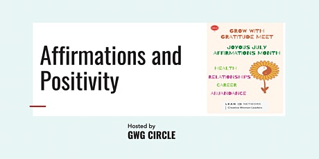 Copy of Grow with Gratitude - Open Circle Meet tickets