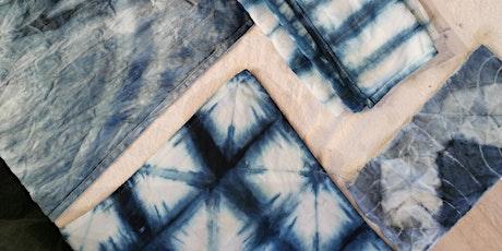 Dyeing with Indigo & Shibori workshop tickets