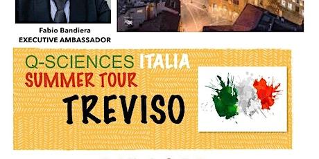 Q-Sciences Italia Summer Tour TREVISO biglietti