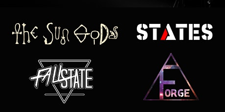 The Sun Gods, States, and Fallstate, w/ support from DJ Forge. tickets