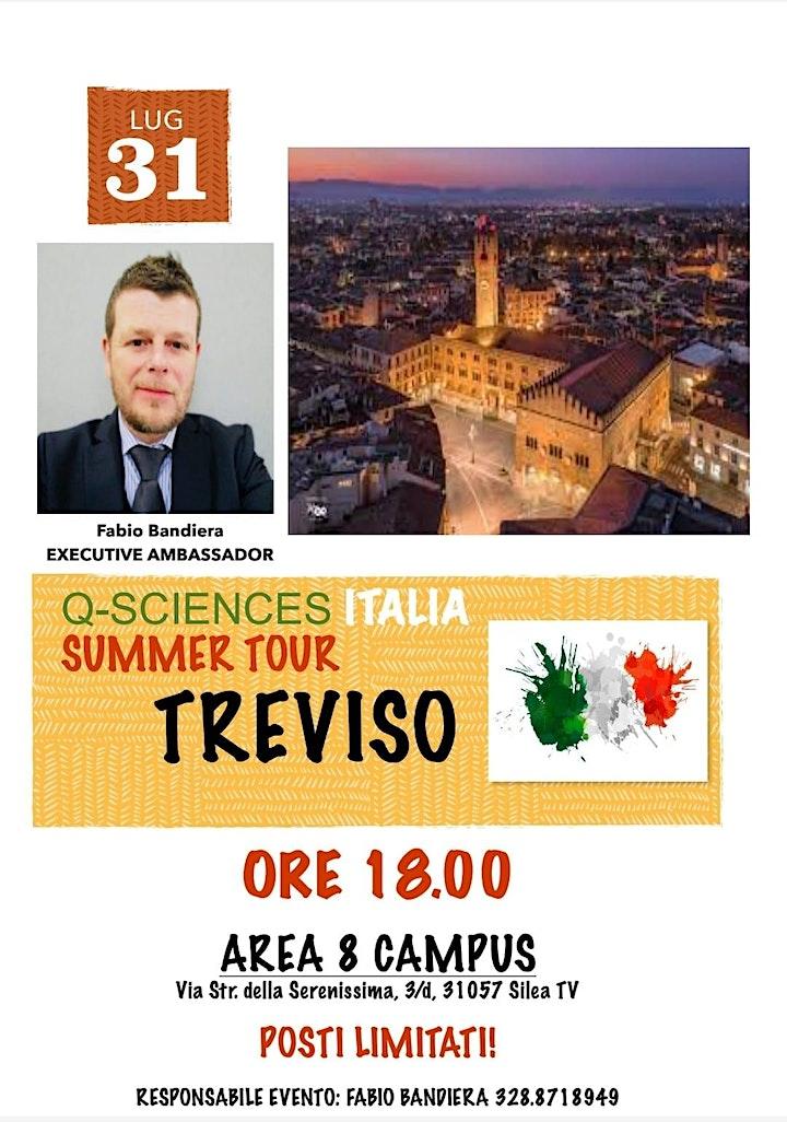 Immagine Q-Sciences Italia Summer Tour TREVISO
