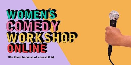 Women's Comedy Workshop: Online Performance tickets