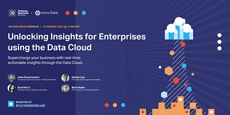 Unlocking Insights for Enterprises with the Data Cloud tickets