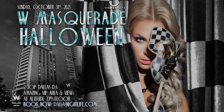 W Dallas Masquerade Halloween Party tickets