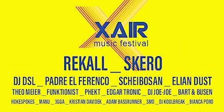 X AIR Music Festival Tickets
