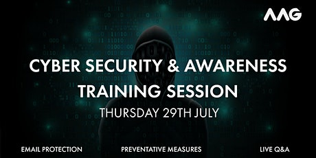 Cyber Security Training Session tickets