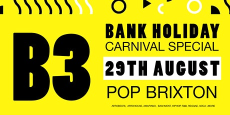 Afarari Records presents: B3 Carnival Special tickets