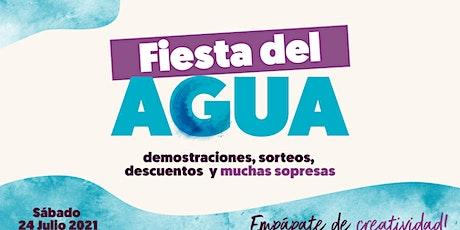 Fiesta del Agua - Creatividad pasada por agua en  Zaragoza entradas