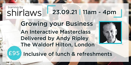 Growing your Business Masterclass tickets