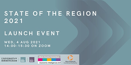 Launch of the State of the Region 2021 tickets