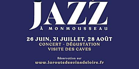 Soirée Jazz Manouche à Monmousseau Samedi 28 août à 18h30 billets