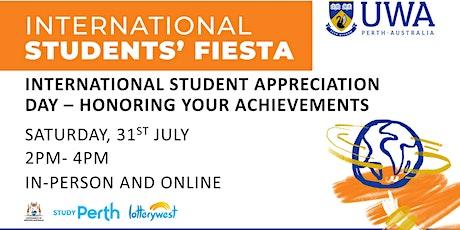 UWA International Students Appreciation  Day (Onshore) tickets