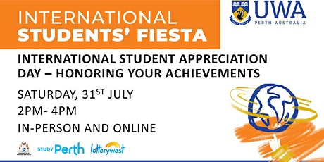 UWA International Students Appreciation  Day (Offshore/ loved ones) tickets