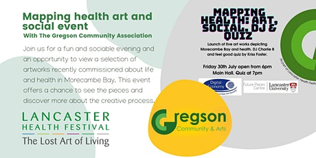 Mapping health art and social event - Lancaster Health Festival tickets
