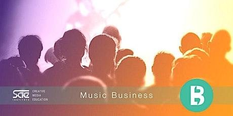 Music Business - Überblick über die Musikindustrie biglietti