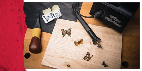 Cardiff Store - Beginners Guide To Pyrography tickets