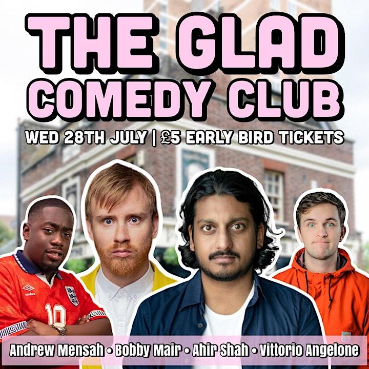 The Glad Comedy Club image
