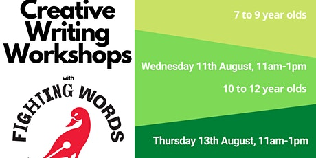 Creative writing workshop for 13-14 year olds with Fighting Words tickets