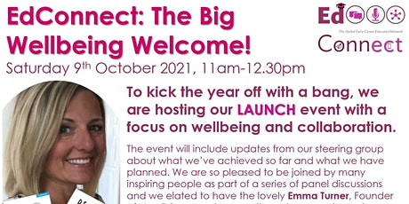 The Big EdConnect Wellbeing Welcome tickets