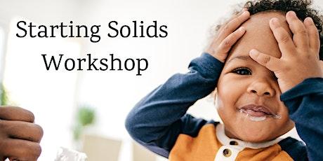 Starting Solids Workshop tickets