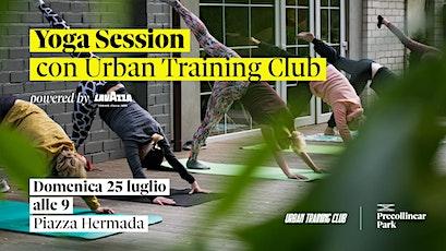 Yoga session  — Urban Training Club @ Precollinear Park biglietti