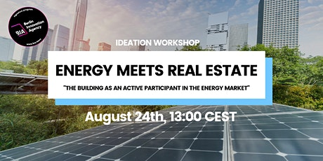 Ideation Workshop — Energy meets Real Estate billets