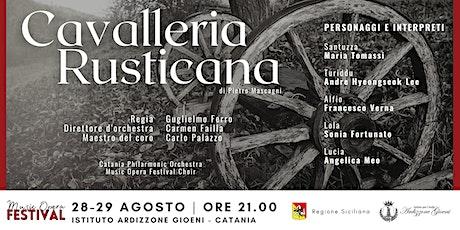 Cavalleria Rusticana di Pietro Mascagni - PRIMA biglietti