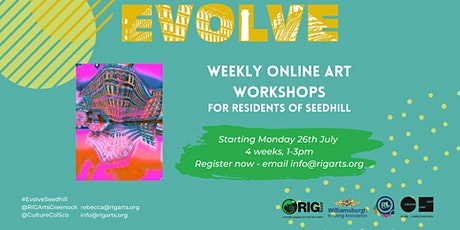 EVOLVE Seedhill Design Your Own Fabric Workshop tickets