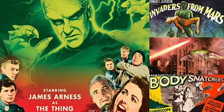 '1950s Sci-Fi Hollywood: Space Creatures and Soviet Scares' Webinar tickets