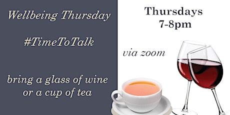 Wellbeing Thursday biglietti