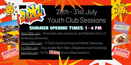 Dr Mz Youth Club Sessions 28/7/21 - 31/7/21 tickets