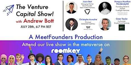 The Venture Capital Show! [July 28] LIVE RECORDING tickets