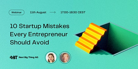 10 Startup Mistakes Every Entrepreneur Should Avoid tickets