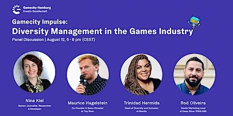 Gamecity Impulse: Diversity Management in the Games Industry biglietti