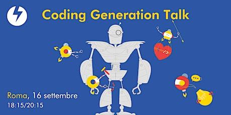 Coding Generation Talk biglietti