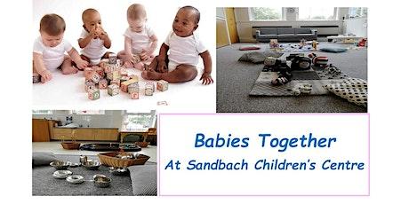 Babies Together at Sandbach tickets