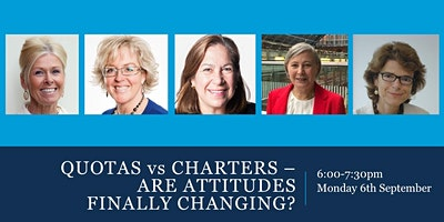 Quotas vs Charters: Are Attitudes Finally Changing?