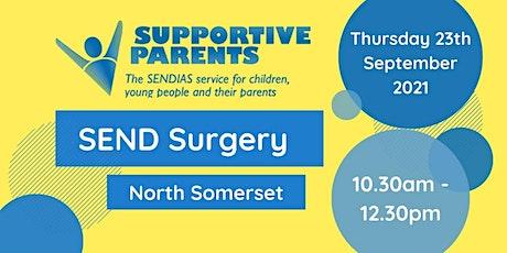 North Somerset Morning SEND Surgery - Thursday 23rd September tickets