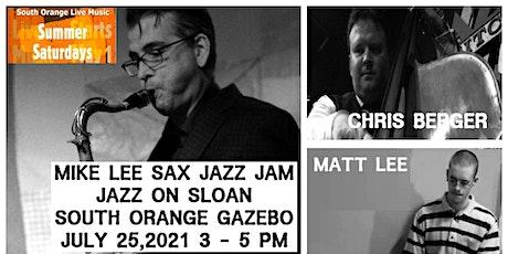 Mike Lee Jazz Jam  in Spiotta Park tickets