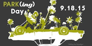 2015 PARK(ing) Day Dallas - Friday, September 18th