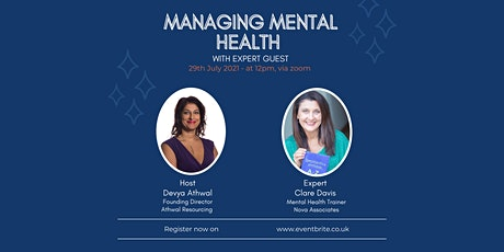 Managing Your Mental Health & Your Teams' Stress tickets