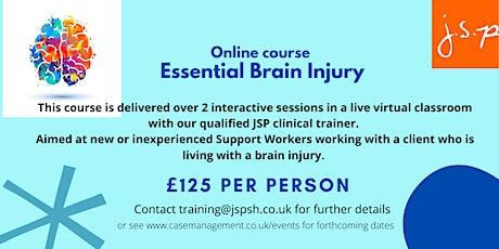 Essential Brain Injury webinars tickets