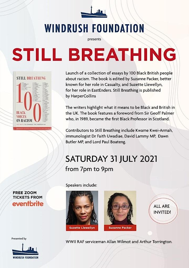Windrush Foundation Presents New Book 'Still Breathing' image