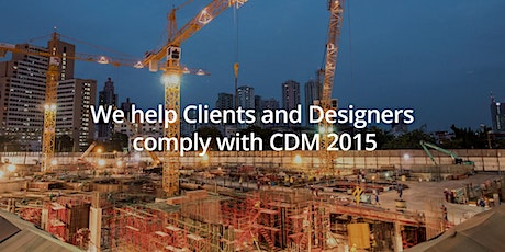 Health and Safety CDM2015 update sessions tickets