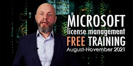 Microsoft License Management Training – 8 parts tickets