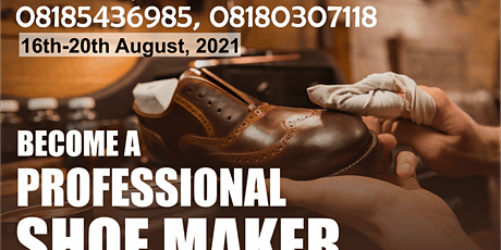 Be a Professional Shoe Maker tickets