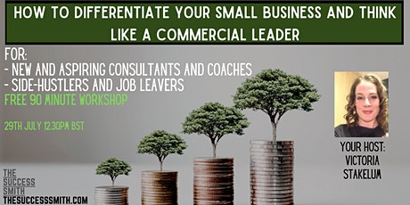 How to differentiate yourself and think like a commercial leader tickets