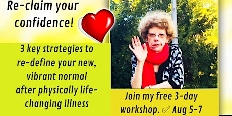Attention female professionals: re-claim your confidence after illness! tickets