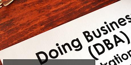 NC Business Registration & Maintenance Basics Including DBA tickets