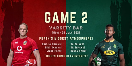 The Lions Tour Perth - Varsity Joondalup (GAME 2) tickets